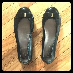 Very comfy Cole Haan Nike Air black flats